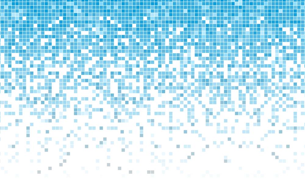 ディスプレイの画面は全てピクセルの集まりである。